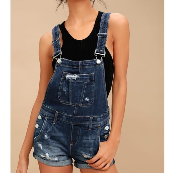 Blank NYC Other - Jean short overalls